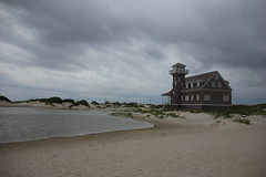 (Lady.in.Black) Tags: beach sand waves cloudy northcarolina outerbanks obx rodanthe peaisland roughwaves