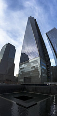 Never Forget (Roshan Yadama) Tags: city nyc newyorkcity usa newyork america skyscraper freedom memorial skyscrapers worldtradecenter 911 citylife highrise september11 patriotism neverforget bigapple worldtrade 911memorial weremember freedomtower