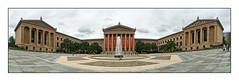 Philadelphia Museum of Art (GAPHIKER) Tags: art philadelphia fountain museum pano rocky philadelphiamuseumofart rockysteps
