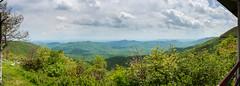 Blue Ridge Parkway Panorama (Luke Robinson) Tags: family panorama usa mountains unitedstates pano northcarolina panoramic canton blueridgeparkway 2014