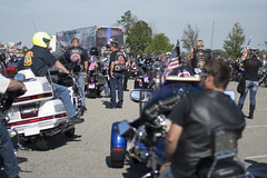 """Stephen Siller Tunnel to Towers Foundation mobile exhibit Memorial Escort • <a style=""""font-size:0.8em;"""" href=""""http://www.flickr.com/photos/55149102@N08/15080237000/"""" target=""""_blank"""">View on Flickr</a>"""