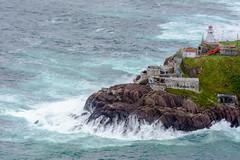Fort Amherst (Greg Noel) Tags: ocean lighthouse newfoundland newfoundlandandlabrador