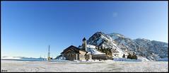 Little church in mount Maniva (enricoFarina) Tags: winter italy panorama snow churches 2011 olympusimagingcorpsp590uz colliobs panoramio436384363957507