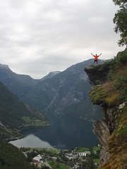 Flydalsjuvet, Geiranger. From here the most known tourist pictures has been shot.