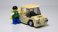 Sand Color Truck 03 (*s-3*) Tags: car truck lego suspension clip