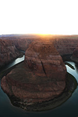 Horseshoe Bend (Christina Fong) Tags: arizona sun nature rocks colorful bend page horseshoe