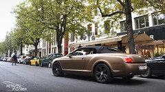 GTC (MvdD Automotive Photography) Tags: brown bronze germany wrapped wrap continental dsseldorf supercar bentley matte carphotography knigsallee gtc exoticcar carspotting exclusivecar petrolpower