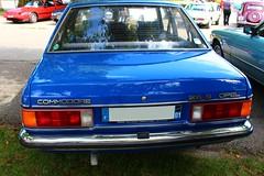 Opel Commodore (alex73s https://www.facebook.com/CaptureOfAlex?pnr) Tags: auto old blue classic car automobile voiture bleu coche commodore oldcar macchina opel ancienne worldcars