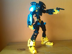 The Goodwill Sniper (16) (EMMSixteenA4) Tags: light self work dark that mirror flickr ranger order good progress 7 wip help will sniper advice bionicle gali critique pls moc lewa tahu nui roark mahri kopaka pohatu lesovikk mfin onua selfmoc lessovikk wreax