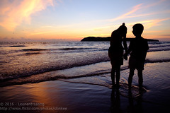 Stay together (Stinkee Beek) Tags: langkawi erin cenangbeach ethan