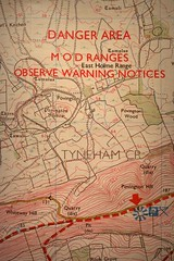 289.365.2016 (johnny the cow) Tags: map contours ordnancesurvey tyneham dangerarea mod ministryofdefence warning povington dorset 365 366 2016 catalogue collection diary photo aphotoaday