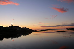 Roscoff (anna.rln) Tags: landscape sunset colors reflection water sea clouds