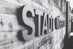 Wrth am Main im Herbst (ttundh) Tags: wrthammain churfranken bayern deutschland typo typografie beton concrete