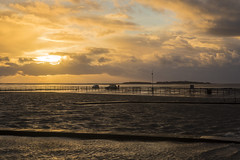 Stormy Waters (David Chennell - DavidC.Photography) Tags: hilbreisland wirral westkirby storm goldenhour