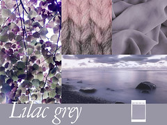 composition-lilac-grey-PE-2016 (creationsrc) Tags: tendance trend mode fashion lilac grey lilas gris pantone printemps t spring summer 2016 tissu