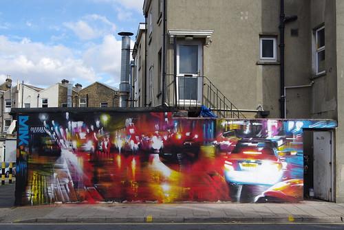 Street art, Penge