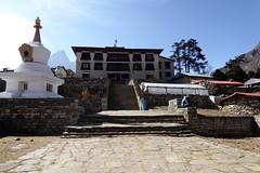 Kloster in Tengboche (Alfesto) Tags: nepal trekking wanderung himalaya namche khumbuarea sagarmathanationalpark tengboche kloster