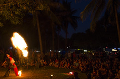 Fire! (Stonebridge65) Tags: artist fire crowd mindil mindilbeachmarket mindilbeach darwin northernterritory topend australia australië nikon d5100 tamron