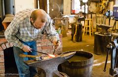 Homestead Heritage (cdw21) Tags: waco texas people blacksmith