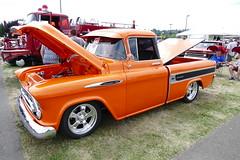 Chevrolet Cameo (bballchico) Tags: chevrolet cameo chevrolet3124 awardwinner winnerscircle carshow 1950s pickuptruck goodguys