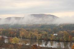 Mist (historygradguy (jobhunting)) Tags: stillwater ny newyork upstate mountain river hudsonriver landscape water clouds mist overcast