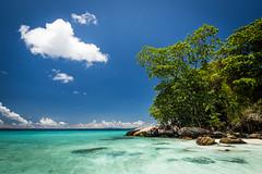 Koh Tachai 04 (arsamie) Tags: koh tachai island thailand sun sea sand beach paradise earth blue turquoise sky ocean water hot warm tree green cloud white rocks