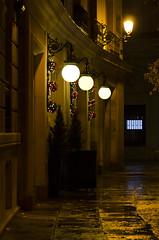 Christmas time (Sonia_Ggonzalez) Tags: street sonia rue nikon d7000 nocturna capital noche tres farolas time christmas navidad calle madrid