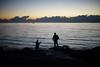 Caesar's Bay (dtanist) Tags: nyc newyork newyorkcity new york city sony a7 canon fd 50mm brooklyn gravesend bay shore promenade caesars fishing fisherman fishermen rod pole fish sea evening night