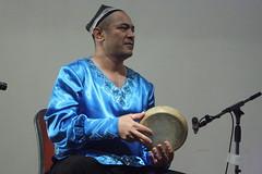 Abbos Kosimov (2016) 02 (KM's Live Music shots) Tags: worldmusic uzbekistan abboskosimov doyrauzbek framedrum handpercussion drums soasconcertseries soas
