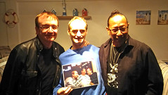 mike moran and peter straker and me (JOHN BRACE) Tags: 31st international queen fan club convention golden sands caravan park mablethorpe lincolnshire uk peter straker singer actor has work lots tv with freddie mercury barcelona great pretender see a hrefhttpwwwpeterstrakercom relnofollowwwwpeterstrakercoma mike moran songwriter keyboard player seen been interviewed is best known for his eurovision entry lynsey de paul but he people including beginning video waving lightsaber around hrefhttpsenwikipediaorgwikimichaelmoran relnofollowenwikipediaorgwikimichaelmoranamusicproducer me photo they signed which bought charity auction 50 ever spent