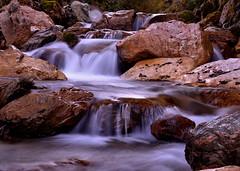 """ Waterfall Salzburg "" (Kalbonsai) Tags: waterfall waterval water nikon 1685mm d5100 stones austria salzburg oostenrijk outdoorphotography"
