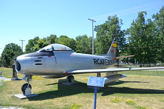 CF-86 Sabre (jc nadeau) Tags: rcaf museum aircraft canada canadian air force trenton ontario airport cfb helicopter