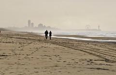 Scheveningen The Netherlands 2nd December 2016 (loose_grip_99) Tags: scheveningen thehague denhaag wassanaar beach pier seaside netherlands water sea northsea misty sillouettes contrejour contrajour december 2016