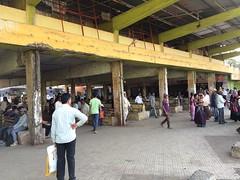 Bhiwandi ST Bus Stand (Depot) Platform No. 6-11 MSRTC (YOGESH CHOUGHULE) Tags: bhiwandistbusstanddepotplatformno611msrtc bhiwandi st bus stand depot platform no 611 msrtc