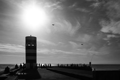 Pescadores / Fishermen (Francisco (PortoPortugal)) Tags: 2172016 20161026fpbo4385 pb bw pescadores fishermen fozdoriodouro oceanoatlntico fozdodouro porto portugal monocrome portografiaassociaofotogrficadoporto franciscooliveira