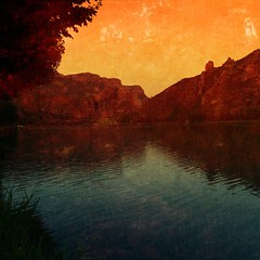 Sunset Beauty In Nature Nature Scenics Tranquility Water Landscape No People Outdoors Lake Sky Mountain Day (Cesc Cam) Tags: sunset beautyinnature nature scenics tranquility water landscape nopeople outdoors lake sky mountain day