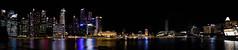 Panorámica de Marine Bay (fns-k) Tags: anochecer asia bahía construcción edificio edificiocomercial horariodetrabajo lago largaexposición mar nocturno paisajeurbano panorámica rascacielos reflejo singapur trabajo