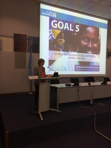 Gender issues in SDGs Bettina Metz-Rolshausen, Executive Director, UN Women National Committee, Germany