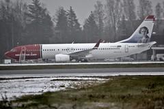 Norwegian Air International EI-FJY, OSL ENGM Gardermoen (Inger Bjørndal Foss) Tags: eifjy norwegian nai boeing 737 osl engm norway gardermoen