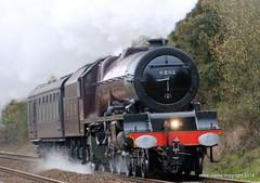 04-11-2016 5z61 6201 (MIKE CLARKE PHOTO STREAM) Tags: 6201princesselizabeth steamlocomotives lms