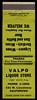 Valpo Liquor Store in Valparaiso, Indiana - Matchcover (Shook Photos) Tags: match matches matchcover matchcovers matchbook matchbooks smoke smoking advertising advertisement promotion promotional valparaisoindiana valparaiso indiana portercounty valpoliquorstore liquor beer cordials alcohol wine
