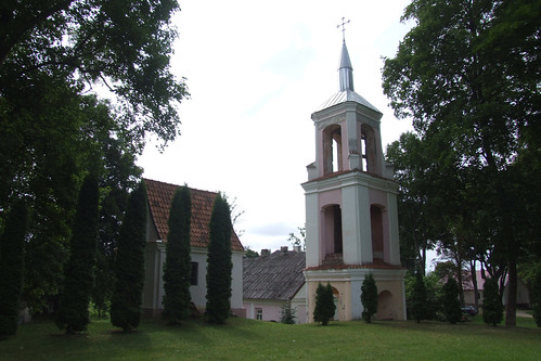 Bell tower of the old Pabiržė church, 10.08.2013.