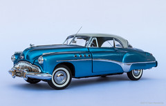 1949 Buick Roadmaster Riviera (khendrix21) Tags: franklin mint 1949 buick roadmaster riviera 124scale diecast model car