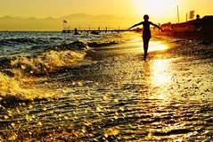 Sunset Antalya Belek Beach (NATIONAL SUGRAPHIC) Tags: antalya belek summertime beach ayhançakar newturkei türkei turkey türkiye yenitürkiye yazmevsimi sahil seaside günbatımı günbatımları sunset sunsets seascape serik greenmax greenmaxhotel beaches plaj