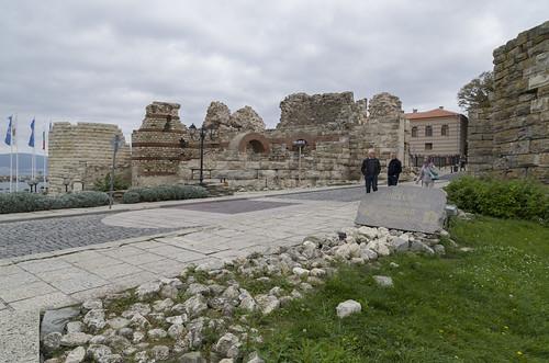 Entrance of the Nesebar old town, 09.10.2014.