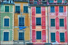 I found my love in Portofino (Maurizio Longinotti) Tags: ifoundmyloveinportofino persiane finestre window windows caseallaligure urban portofino golfodeltigullio liguria colorful italia italy housesportofino shutters