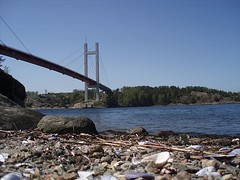 Tjrnbron, Klln (2008)(2) (biketommy999) Tags: klln bohusln vstkusten biketommy999 biketommy sverige sweden 2008 havet sea bro bridge