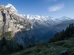 Into the valley (mightymightymatze) Tags: switzerland schweiz suisse mrren bern berne berneroberland lauterbrunnen lauterbrunnental mountains mountain berge berg alpen alps alpes