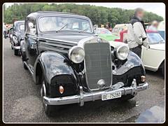 Mercedes-Benz 170 S, W136 IV (1949-1952) (v8dub) Tags: mercedes benz 170 s schweiz suisse switzerland german pkw voiture car wagen worldcars auto automobile automotive old oldtimer oldcar klassik classic collector