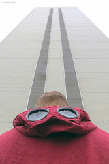 CP, High Street, Croydon (MJ Reilly) Tags: symmetric symmetrical canon s100 winter london uk england culture casual croydon urban southlondon street tower officeblock towerblock 1970s leonhouse symmetry sky cp cpclothing goggles streetwear fashion